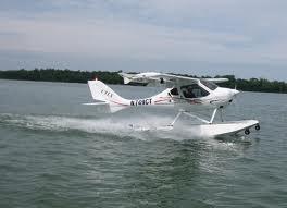 CTLS on floats (water takeoff)