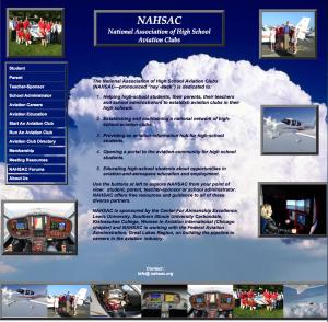 NAHSAC Web page